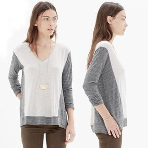 Madewell | All Around Color Block Long Sleeve Sz L